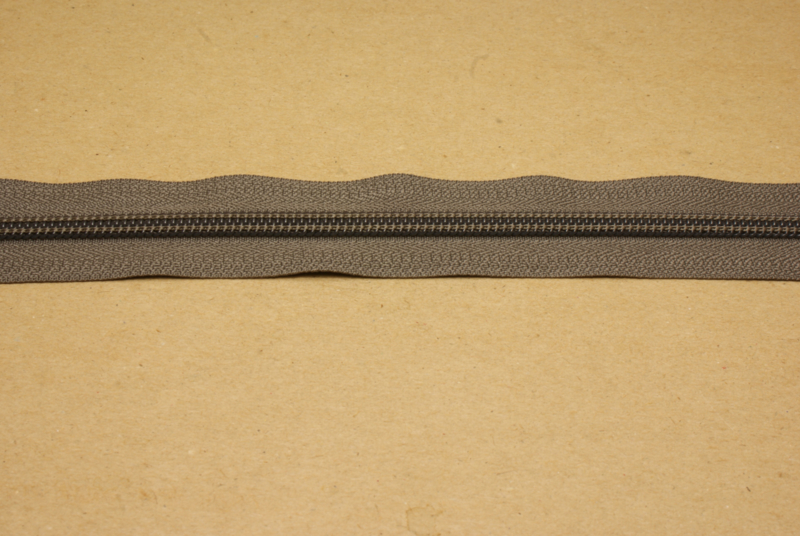 Rits YKK 5mm Taupe