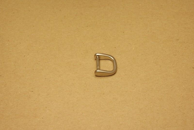 Handvatbevestiging mat nikkel 16mm