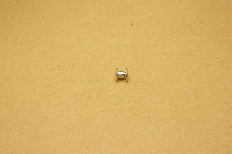 Boekschroef nikkel 4mm (100)
