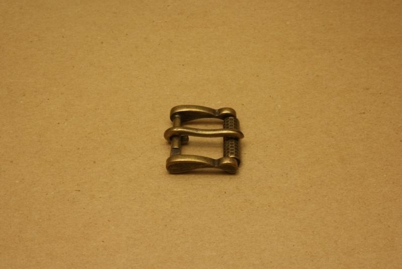 Gesp oud goud 25 mm