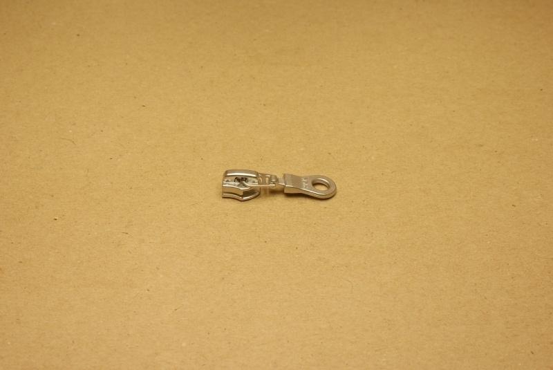 Trekker YKK nikkel voor rits 5mm