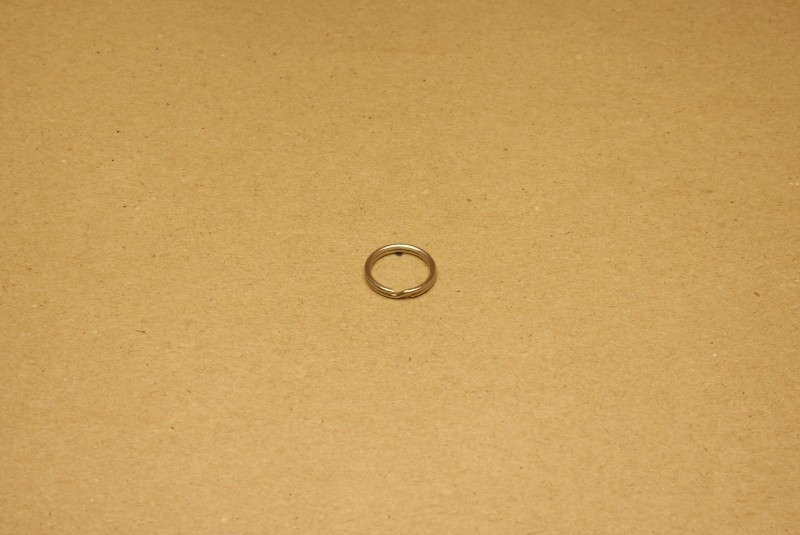Sleutelring nikkel 14 mm