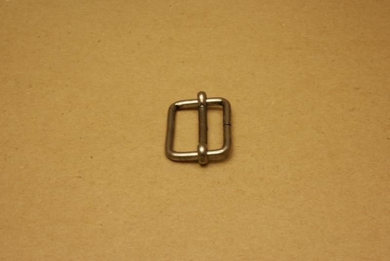 Schuifgesp oud nikkel 30 mm