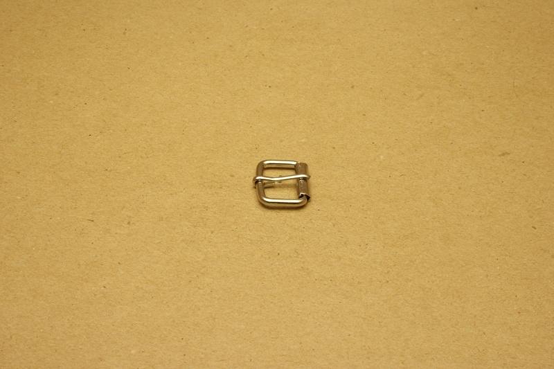 Rolgesp nikkel 15 mm