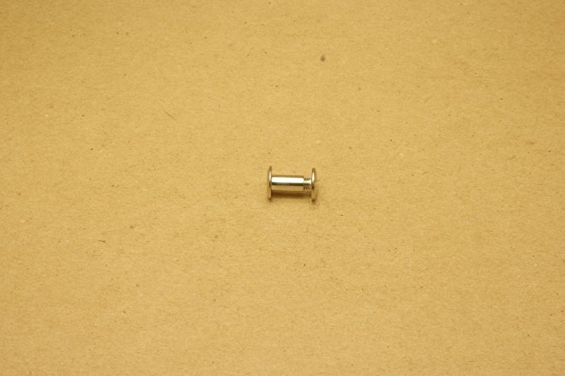 Boekschroef nikkel 10mm (100)