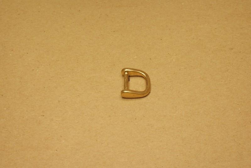 Handvatbevestiging goud 16mm