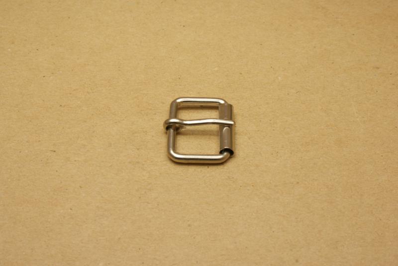 Rolgesp nikkel 25 mm
