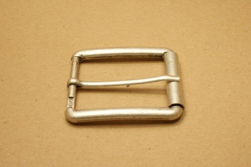 Gesp oud nikkel 45 mm