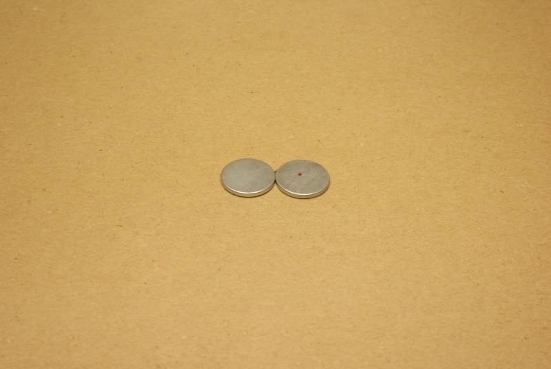 Blinde magneetsluiting