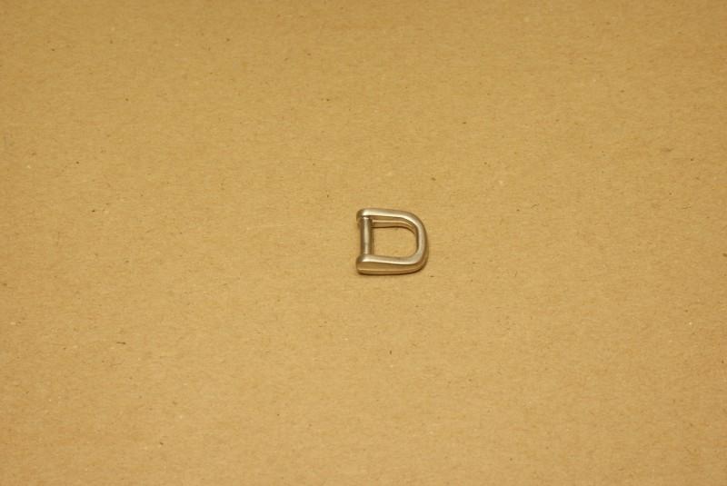 Handvatbevestiging mat nikkel 12mm