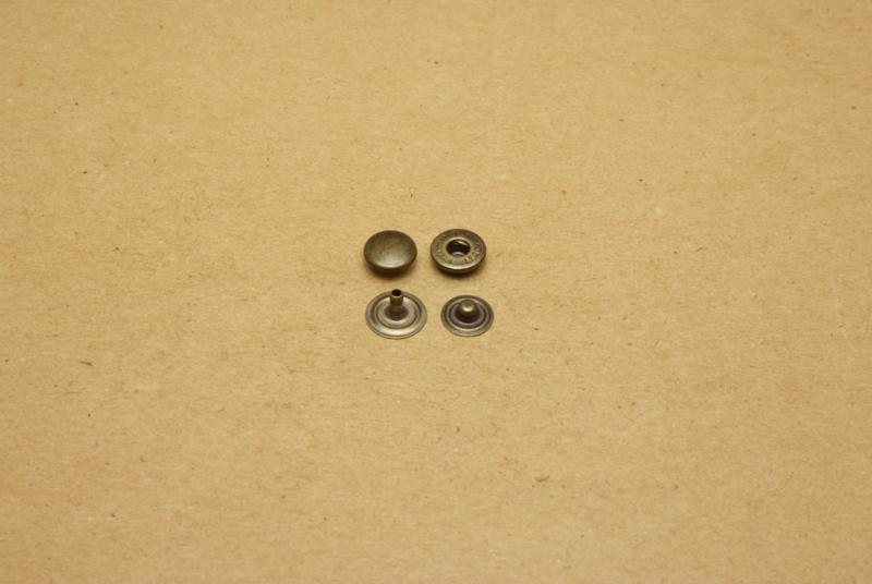 Portemonnee drukker klein oud nikkel (100)