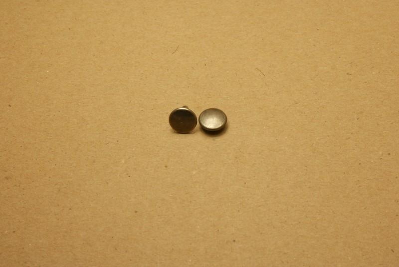 Holnieten dubbele kop oud nikkel 36/10 (100)