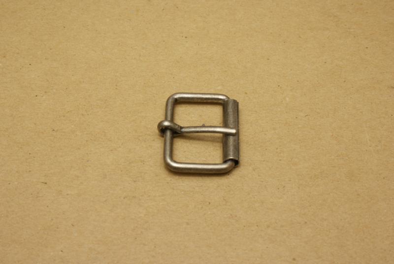 Rolgesp oud nikkel 30 mm **Nieuw**