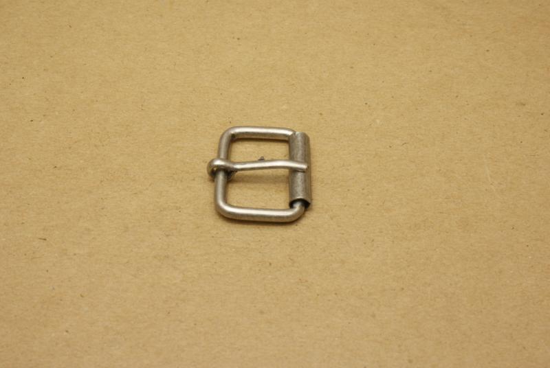 Rolgesp oud nikkel 25 mm **Nieuw**
