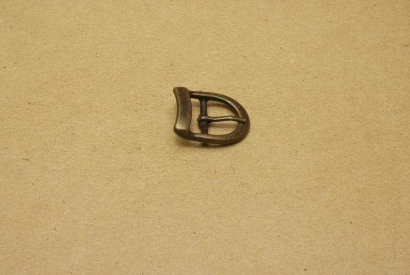 Gesp oud goud 15 mm **Nieuw**