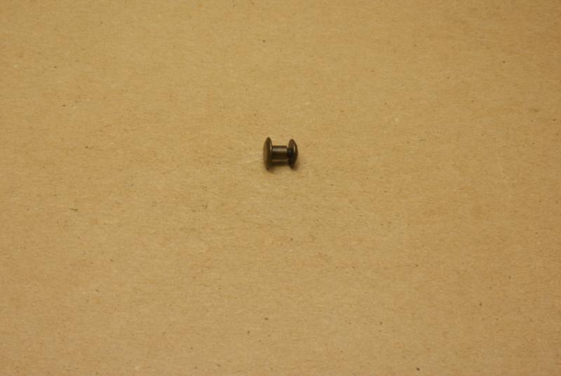 Boekschroef oud goud 5mm (100) **Nieuw**