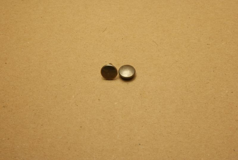 Holnieten dubbele kop oud nikkel 36/12 (100)
