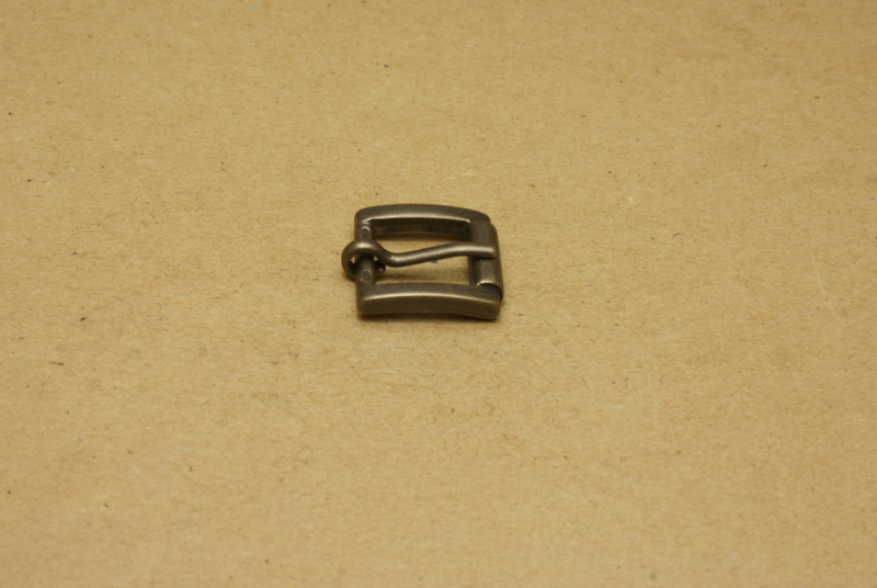 Gesp oud goud 15 mm