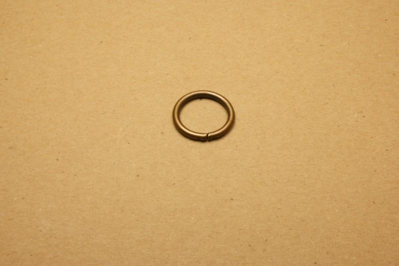Ring ongelast oud goud 20 mm