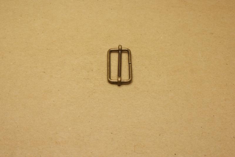 Schuifgesp oud goud 30 mm **Nieuw**