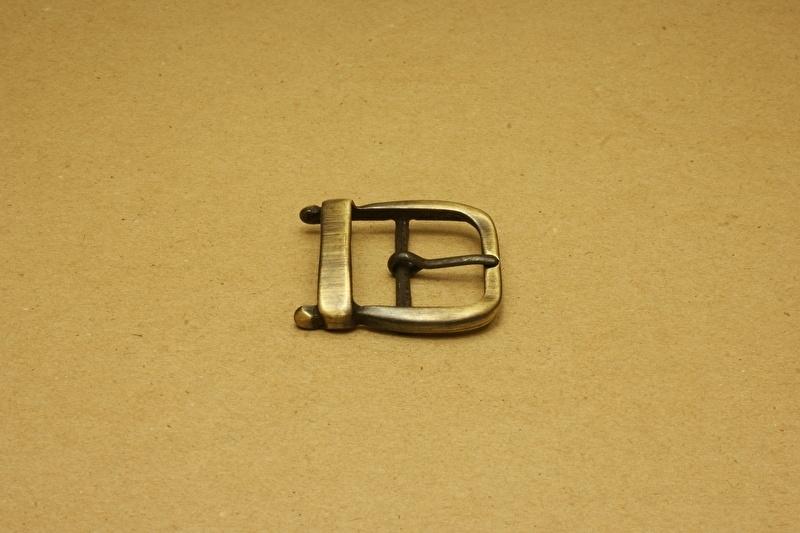 Gesp oud goud 30 mm
