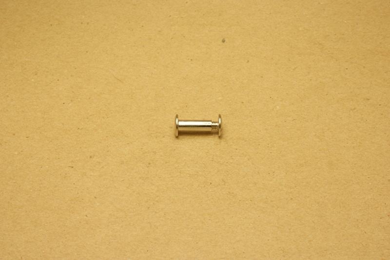 Boekschroef nikkel 15mm (100)
