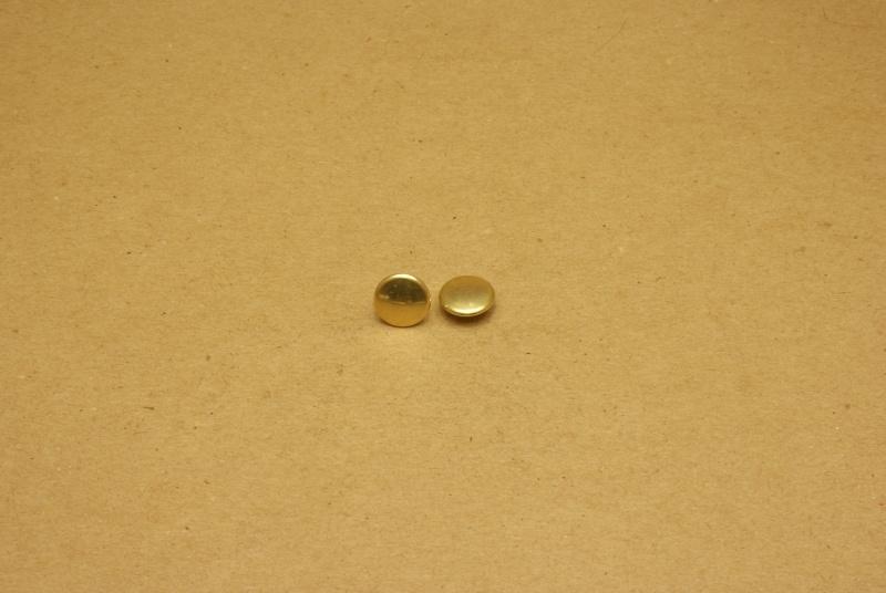 Holnieten dubbele kop goud 36/8 (100)