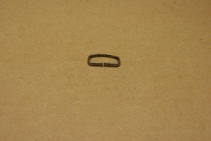 Passant ongelast 20mm oud nikkel **Nieuw**