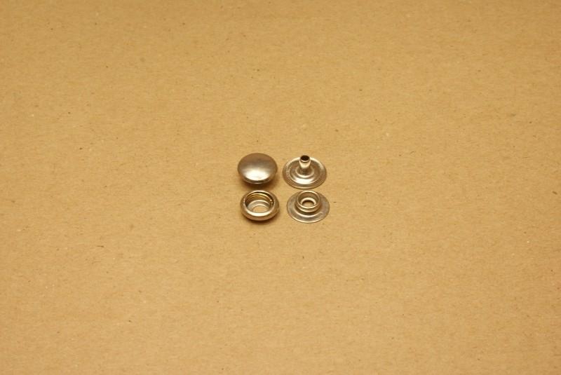 Drukker baby dots nikkel (100)