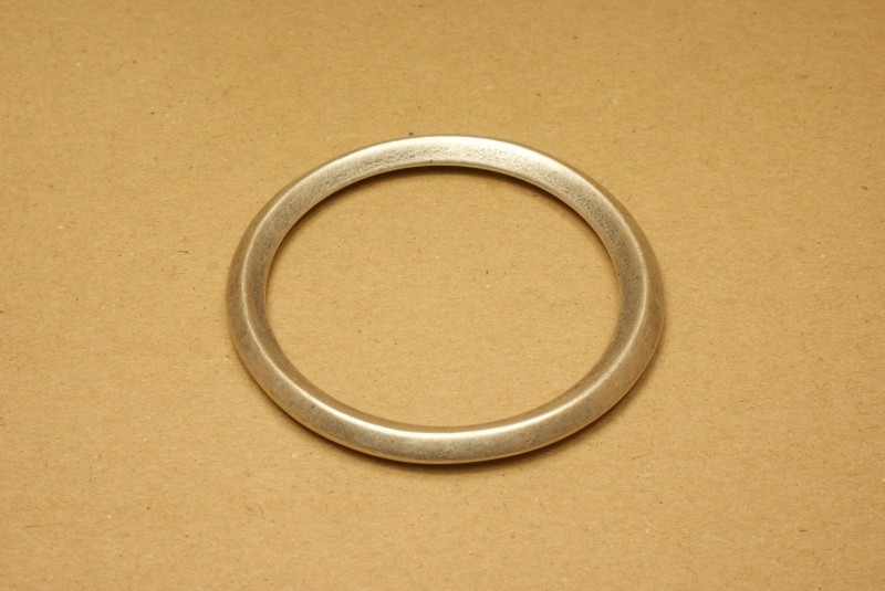 Ring gelast mat nikkel 65 mm
