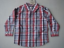 Rood geruite blouse van Pointer