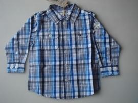 Blauw geruite blouse van Pointer