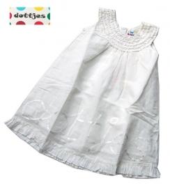 Witte jurk van Dottjes