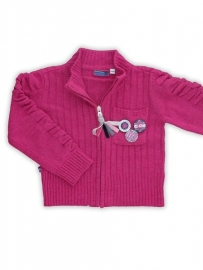 Roze vest van Another World mt.74