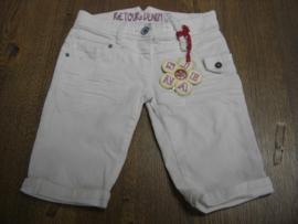 Witte korte broek van Retour mt.128