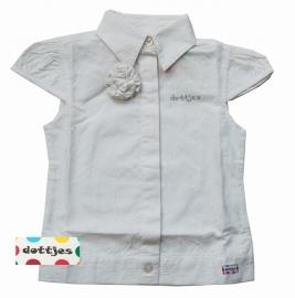 Witte blouse van Dottjes