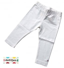 Witte legging van Dottjes