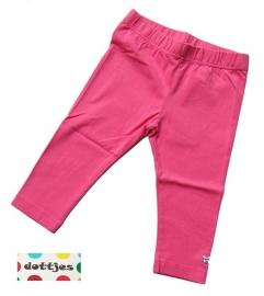 Roze legging van Dottjes mt.140