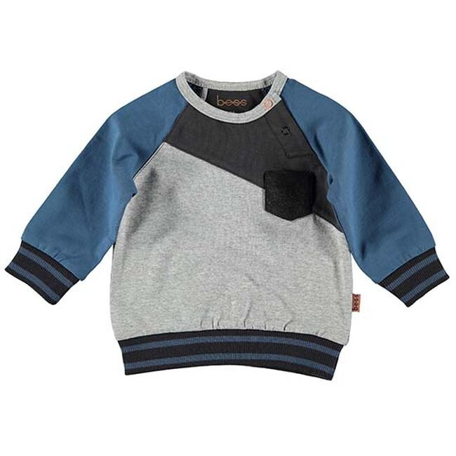 B.E.S.S. sweater diagonaal