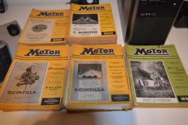 Motor bladen 1942-28 stuks