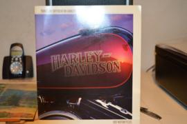 Harley Davidson folder 1987