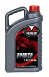 Midland  5W-40 olie synthetisch