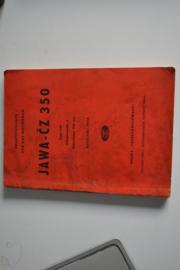 Jawa-CZ 350 2 cilinder 1954
