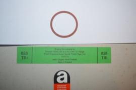 Triumph fiber ring olie dop onderzijde blok