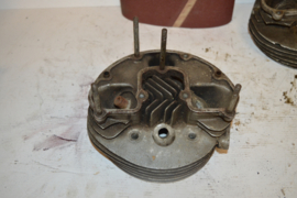 Bsa motorblok cilinderkop B25