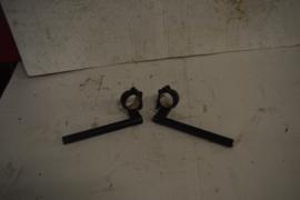 Clipons 44 mm zwart