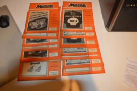 Motor bladen 1946-12 stuks