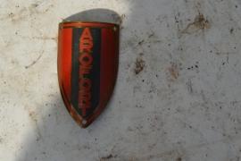 Aroford (merk uit Den Haag)balhoofdplaatje