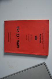 Jawa-Cz 250 type 353/03 1956