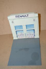 Niels Greif/ ontwerp Renault garage metaal